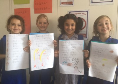 Level 2 Acrostic Poems