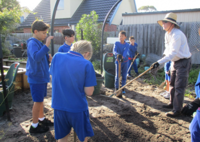Level 3's Day in the Garden