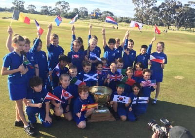 Kingston Heath Primary School Takes on the World